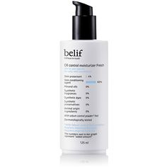 This oil-free moisturizer for oily skin type leaves you with a light finish without excess shine while keeping the skin moisturized. Rosehip extracts rich in vitamins and tannins along with oil controlling powder in the moisturizer tightens enlarged pores and improves resilience, leaving the skin clean and smooth. Volume : 125ml