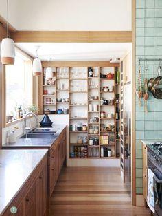 18 kreativa förslag på öppen förvaring i köket | Sköna hem