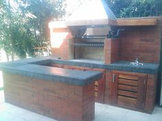 PERGOLAS Y QUINCHOS Blessed Mother, Barbacoa, Patio Design, Backyard Patio, Tub, Deck, Building, Outdoor Decor, Home Decor