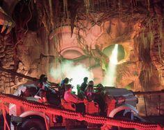 The Indiana Jones Adventure ride at Disneyland.  Best.  Ride.  Ever.