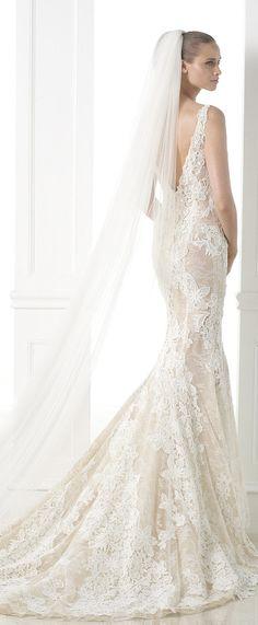 Atelier Pronovias 2015 Haute Couture Bridal Collection - Belle The Magazine