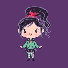 Shop Sugar Racer CutiE wreck it ralph t-shirts designed by Ellador as well as other wreck it ralph merchandise at TeePublic. Anna Disney, Disney Princess Cartoons, Kawaii Disney, Disney Princess Drawings, Disney Princess Art, Disney Drawings, Disney Love, Disney Art, Disney Pixar