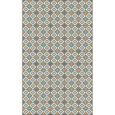1300**Vinylový koberec Huella Déco Quadrado 135x83 cm
