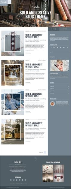 Wordie is a most versatile #WordPress #blog #theme, 37 homepage variations, 40+ single page variations, MailChimp integration, a bilingual template, and so much more download now➩ https://themeforest.net/item/wordie-bold-creative-wordpress-blog-theme/12621697?ref=Datasata