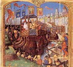 Les croisades | L'Histoire de France Siège de Damiette