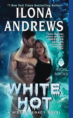 """Read """"White Hot A Hidden Legacy Novel"""" by Ilona Andrews available from Rakuten Kobo. The Hidden Legacy series by New York Times bestselling author Ilona Andrews continues as Nevada and Rogan navigate a . Top Ten Books, Best Books To Read, New Books, Good Books, Jeaniene Frost, Houston, What Book, Paranormal Romance, English"""