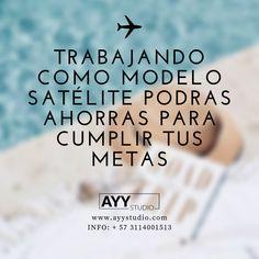 Modelo Satélite - trabaja desde casa  Info: + 57 3114001513  www.ayystudio.com Studio, Home, Bucaramanga, Lights Camera Action, Documentaries, Studios
