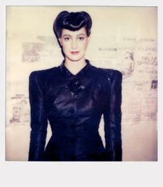 Sean Young's Polaroids from the set of 'Blade Runner' | Dangerous Minds