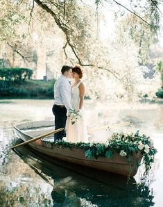 Must have свадебной фотосессии 2015: прогулка на лодке - The-wedding.ru