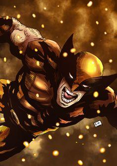 Wolverine Pinterest: Abel Peña