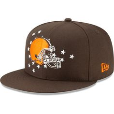 online store 96985 cf922 Cleveland Browns New Era 2019 NFL Draft On-Stage Official Adjustable  Snapback Hat – Brown