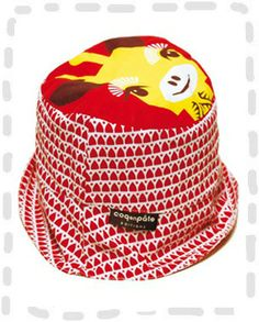 Giraffe sun hat by Mibo. yetimagic.co.uk