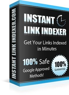 Get Your Links Indexed in mere Minutes absolutely GUARANTEED only with Instant Link Indexer service.
