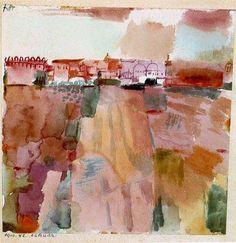 Kairouan 1914 by Paul Klee. Massive range of art prints. Abstract Watercolor, Watercolor Paintings, Watercolours, Watercolor Artists, Gouache Painting, Abstract Oil, Abstract Paintings, Abstract Expressionism, Oil Paintings