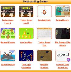 Learning to keyboard and free typing games for kids! Learning Games for Kids - Education is part of life. It should be fun and challenging. Computer Class, Computer Technology, Educational Technology, Gaming Computer, Computer Teacher, Technology Lessons, Science And Technology, Logitech, Learning Games For Kids