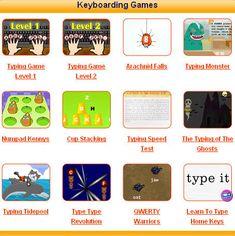 Keyboarding sites
