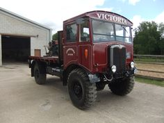 AEC Matador. Classic Trucks, Classic Cars, Old Lorries, 4x4 Trucks, Commercial Vehicle, Vintage Trucks, Old Cars, Antique Cars, Transportation