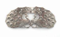 A Birmingham Guild of Handicraft silver waist clasp designed by Arthur Fowler, Birmingham 1900