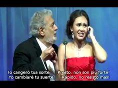 Plácido Domingo and Aida Garifullina sing La ci darem la mano from Mozar...