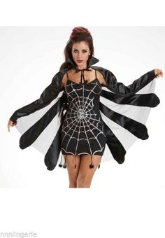 Escante Costumes Lingerie Black Widow Costume Roleplay Set #Escante #Costume #Roleplay