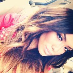 <3 Gorgeous hair && makeup <3