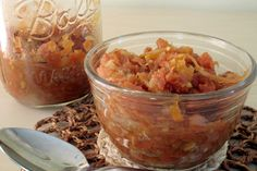 Carrot and Coconut Chutney