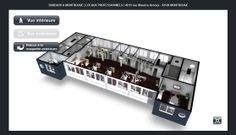 Image issue d'une Maquette Virtuelle 3D Interactive de bureaux - Vue extérieure