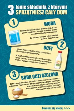 In Case Of Emergency, Organize Your Life, Diy Cleaners, Dom, Home Organization, Cleaning Hacks, Fun Facts, Life Hacks, Health
