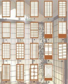 The architecture of a traditional Japanese house is full of beauty and curiosities. See 16 elements that delight and inspire! Japanese Style House, Traditional Japanese House, Japanese Interior Design, Japanese Home Decor, Japanese Design, Japanese Living Rooms, Japanese Homes, Window Grill Design, Door Design