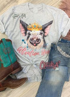 T Shirt And Jeans, Tee Shirts, Tees, Gypsy Cowgirl Style, Real Country Girls, Rocker Style, Bubblegum Pink, Cow Print, Girls Be Like