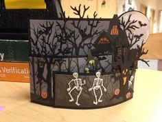 Halloween bendy card