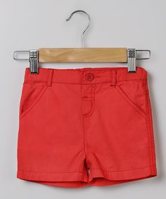 Red Casual Short - Infant, Toddler & Boys