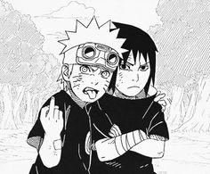 Lol, Naruto and Sasuke