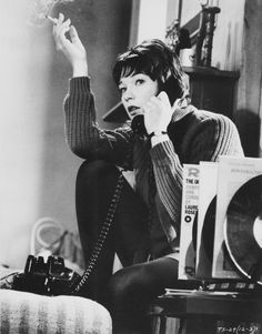 Shirley MacLaine, Two For The Seesaw, 1962