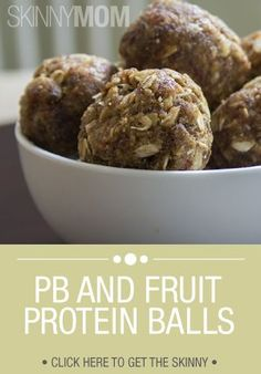 These peanut butter and fruit protein balls are the perfect snack to give your kids before their athletic games or as a quick pre or post-workout snack for yourself!.