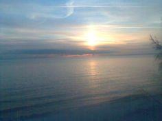Sunrise on Lake Ontario in Burlington Ontario