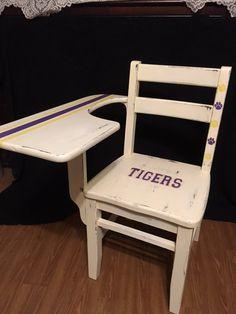 Tiger Team refinished school desk