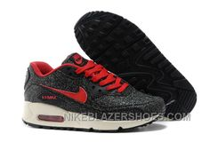 Nike Air Max 90 Spring Flowers Womens Denim Black And Red Trench Free  Shipping N3Ryi