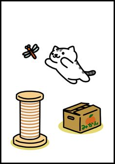 Neko Atsume Wallpaper, Neko Atsume Kitty Collector, Kitty Crafts, Cat Prints, Simons Cat, Cute App, Felt Diy, Kawaii Cute, Animal Memes