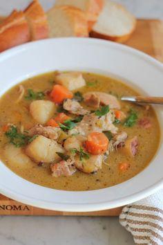 Deep, rich and flavorful . . this chicken stew is named the Best Chicken Stew for a reason. Tested again and again, with a technique that works wonderfully from America's Test Kitchen, you can't miss out on this stew!