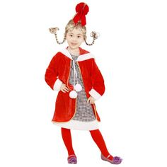 Cindy lou who halloween costume contest at costume works child cindy lou costume solutioingenieria Choice Image