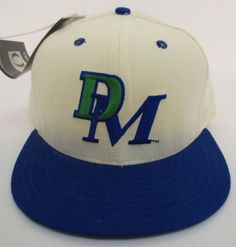 Dallas Mavericks Hat Cap Vintage Retro Vtg Stitch Fitted New Era Nba Basketball