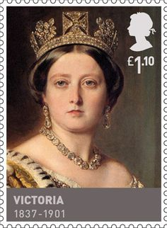 Born on this day 24th May, 1819, Princess Alexandrina Victoria at Kensington Palace in London. Only daughter of the Duke of Kent. As Queen Victoria, she reigned for 63 years. She married Prince Albert in 1840 and had four sons and five daughters, Kings & Queens, House of Hannover £1.10 Stamp (2011) Victoria (1837 - 1901)
