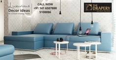 Add Color, Style and Versatility to your Home Decor with our elegant range of Sofa Sets. For booking dial +911416507888, 5108886  ‪#‎Homefurnishings‬ ‪#‎Sofasets‬