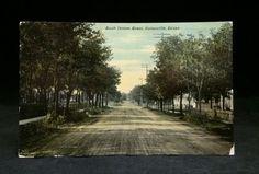 Vintage Postcard 1911 South Denton Street Gainesville Texas TX PC | eBay