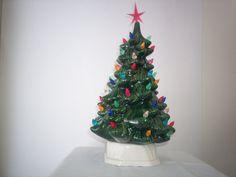 Ceramic Chrismas Tree Vintage we have trees by MnMCustomCeramics