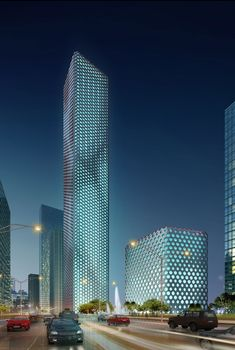 Sinosteel Tower , tianjin china