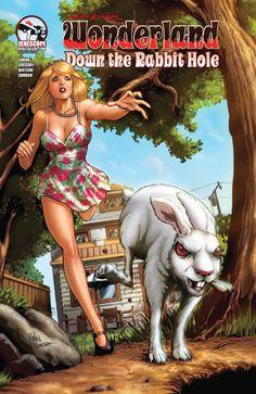 Image from http://cdn.unleashthefanboy.com/wp-content/uploads/2013/05/Grimm-Fairy-Tales-presents-Wonderland-Down-the-Rabbit-Hole-1_C.jpg?4dbf7b.