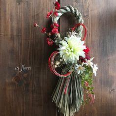 いいね!141件、コメント1件 ― iri flores(イリフローレス)さん(@iriflores.botanica)のInstagramアカウント: 「Japanese New Year arrangement. #iriflores_shimenawa ・ ・ 《写真3枚あります》 MLサイズ 和モダンしめ縄 →Sold out ・ ・…」