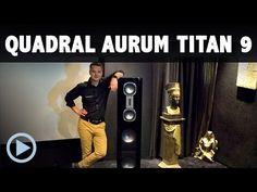 Quadral AURUM TITAN 9 IX Lautsprecher Vorstellung mit Sascha Reckert Aurum, France, Fiction, Speakers, Cinema, French